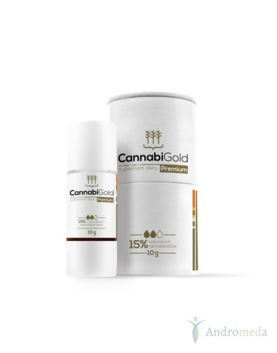 Cannabigold Premium CBD 1500 mg 12ml
