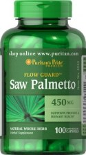 Saw Palmetto 100 kapsułek 450 mg
