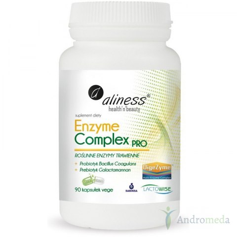 Enzyme Complex Pro 90 Vege Caps Enzymy
