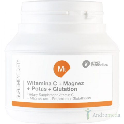 MT WITAMINA C+ MAGNEZ+ POTAS+ GLUTATION 150G