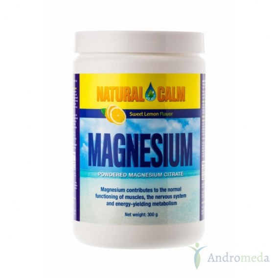 Magnez Natural Calm Sweet Lemon 300g