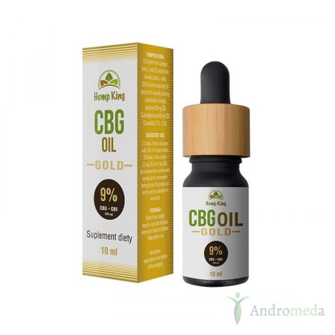 Olej CBG Gold 9% (900mg) – 10ml