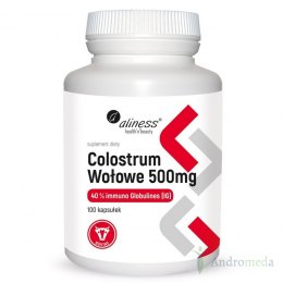 Colostrum wołowe 500mg - 100 kaps.